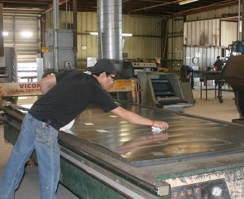Sheet metal fabrication in San Antonio, TX.
